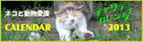 ネコと動物愛護チャリティーカレンダー2013
