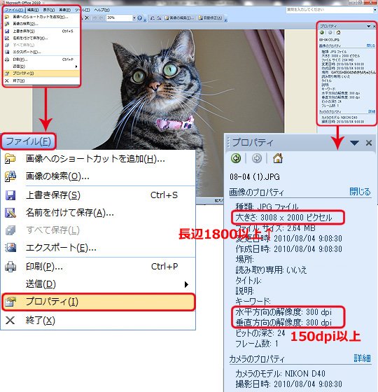 「Picture Manager」の場合